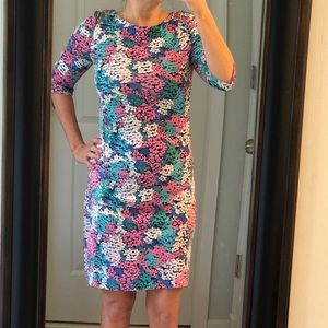Lilly Pulitzer | Multi Color Floral Jeanie Dress